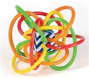 Obrazek Kolorowy gryzak WINKEL - pastelowy MANHATTAN TOY
