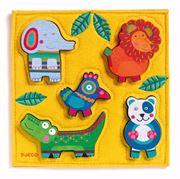 Obrazek Wesoła dżungla - Puzzle
