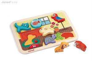 Obrazek Układanka puzzle 3D Zwierzęta domowe