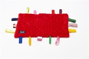 Obrazek Sensory Fun Pad - Szmatka sensoryczna - Red