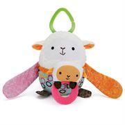 Obrazek Zabawka do wózka Hug & Hide Owca