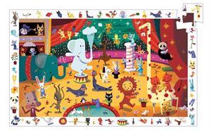 Obrazek Puzzle Cyrk 35 elementów DJECO