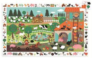 Obrazek Puzzle Farma 35 elementów DJECO