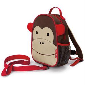 Obrazek Plecak Baby Zoo Małpa ze smyczą bezpieczeństwa