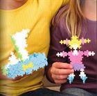 Obrazek Klocki Mini Pastel 220 sztuk 3w1