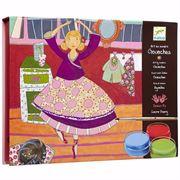 Obrazek Zestaw artystyczny do malowania Tancerki