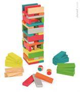 Obrazek Gra Jenga z kolorami Equilibloc