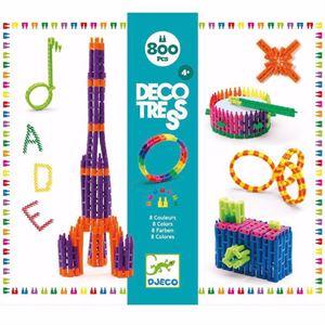 Obrazek Klocki konstrukcyjne Tress 800 elementów DJECO