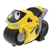 Obrazek Żółty motor Ducati CHICCO