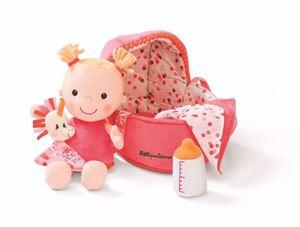 Obrazek Baby Louise lalka szmacianka w nosidełku LILLIPUTIENS