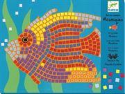 Obrazek Zestaw artystyczny mozaiki Rybki DJECO