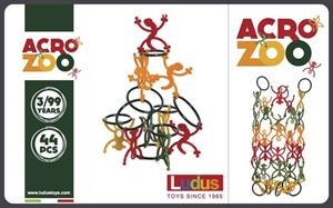 Obrazek Klocki Acro Zoo LUDUS
