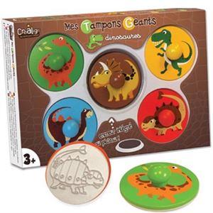 Obrazek Gigantyczne stempelki Dinozaury CREA LIGN'