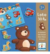 Obrazek Gra edukacyjna Lotto dom DJECO