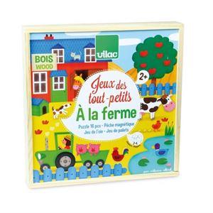 Obrazek Zestaw gier dla dwulatka: na farmie VILAC