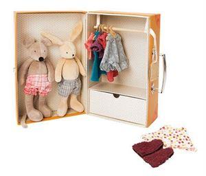 Obrazek Garderoba w walizce Myszki i Króliczka Grande Famille