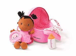 Obrazek Baby Amelie lalka szmacianka w nosidełku LILLIPUTIENS