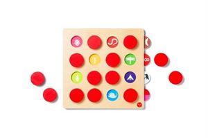 Obrazek Memory Match 16 czerwony KID O
