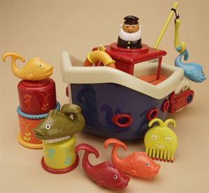 Obrazek Zestaw do zabawy w wodzie Fish & Splish B.TOYS