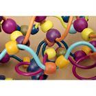 Obrazek Drewniane paciorki na zakręconych drążkach Loopty Loo B.TOYS
