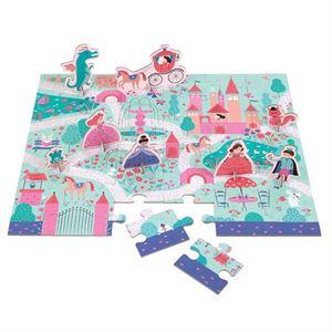 Obrazek Puzzle Księżniczka - zestaw z figurkami MUDPUPPY