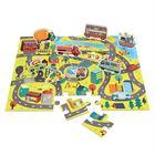 Obrazek Puzzle W Mieście - zestaw z figurkami MUDPUPPY