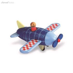 Obrazek Drewniany samolot magnetyczny JANOD