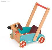 Obrazek Szalony Piesek wózek - chodzik JANOD