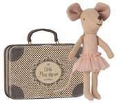 Obrazek Myszka Balerina - Starsza Siostra w walizce MAILEG