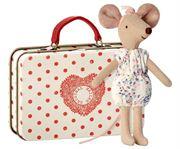 Obrazek Myszka - Starsza Siostra w walizce MAILEG