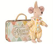 Obrazek Myszka Clown w walizce MAILEG
