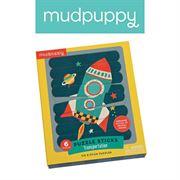 Obrazek Puzzle patyczki Środki transportu 24 elementy MUDPUPPY