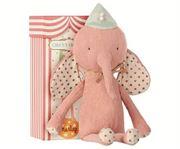 Obrazek Różowy Słonik w kapeluszu Circus Friends MAILEG