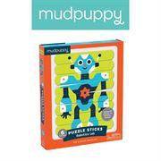 Obrazek Puzzle patyczki Roboty 24 elementy MUDPUPPY