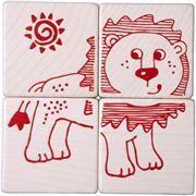 Obrazek Klocki - puzzle Zwierzątka HABA