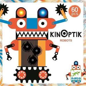 Obrazek Układanka Kinoptik Roboty DJECO