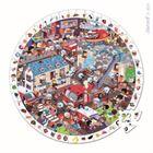 Obrazek Puzzle obserwacyjne w walizce Straż Pożarna JANOD