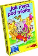 Obrazek Gra zręcznościowa Jak Mysz pod miotłą HABA