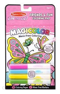 Obrazek Magicolor - kolorowanka z mazakami Motyle MELISSA & DOUG