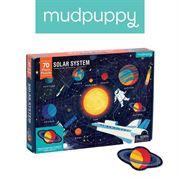 Obrazek Puzzle Układ Słoneczny z elementami w kształcie planet 5+ MUDPUPPY