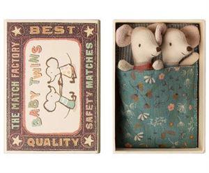 Obrazek Myszki - Bliźnięta w pudełku MAILEG