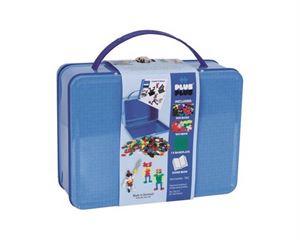 Obrazek Klocki Plus-Plus Mini metalowa walizka 600 PLUS PLUS